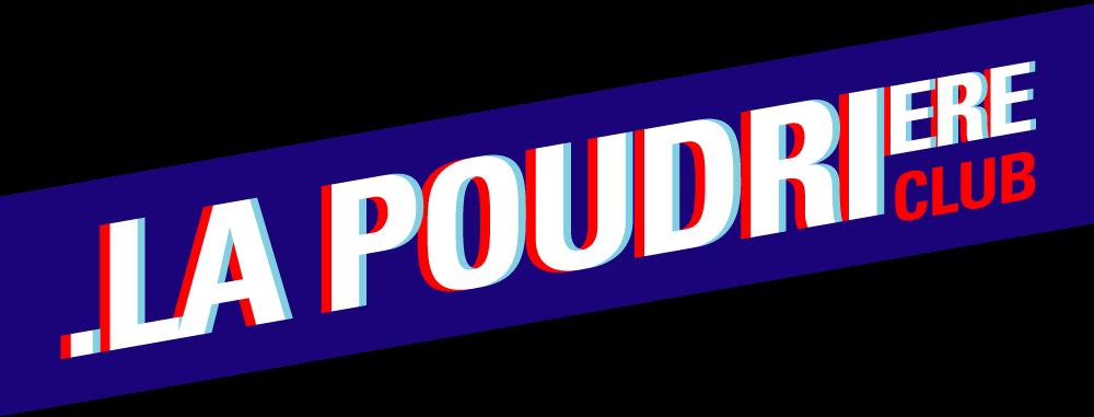 logo textuel de la salle de concert La Poudrière