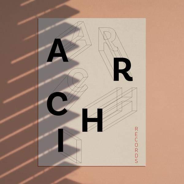 affiche Archi Records